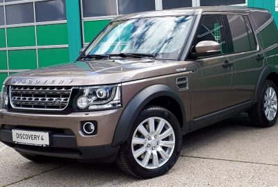Land Rover Discovery 4 3,0 TDV6 Fiskal S aut. bei Autohaus Dobersberg in